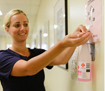 Hand Hygiene focus in SMH – 15 January 2016