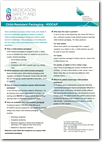 KIDCAP child resistant packaging information sheet