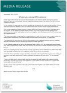 Media Release: 15 April 2015 - GP takes lead on reducing COPD re-admissions