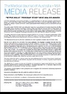 Media Release: 31 May 2017 - SEPSIS KILLS program study wins major award