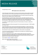 Media Release: NSW hospitals unite to reduce infections - 18 February 2016